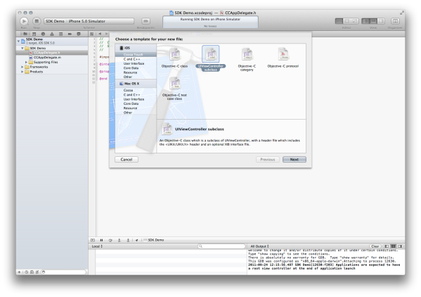New File View
