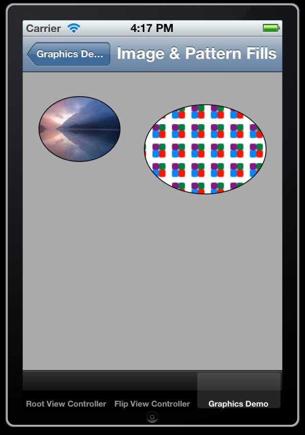 Quartz Pattern and Image  Fills