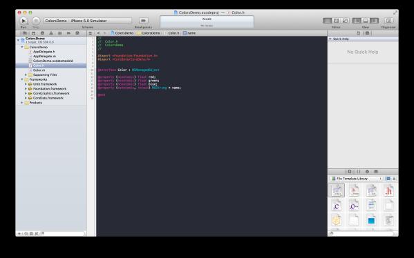 Xcode generates property declarations